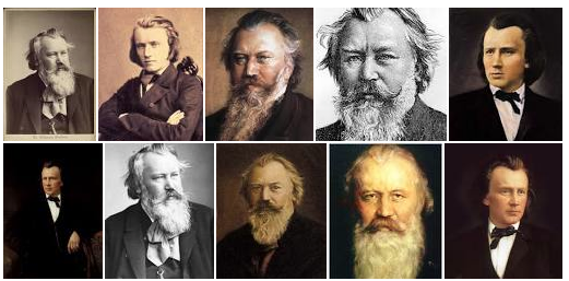Brahms collage
